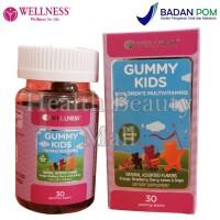 Wellness Gummy Kids 30 Gummies - Vitamin Anak - Multivitamin