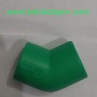 PP-R Elbow Knie 45 Derajat 90 mm x 3 inch Rucika Depok Jakarta