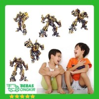 WALL STICKER TRANSFORMERS ROBOT ANIMATION BUMBLEBEE