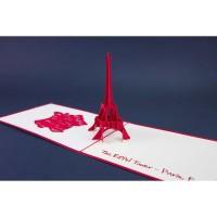 Paris 2 - 3D Gift Card Haiku Kartu Ucapan Ulang Tahun