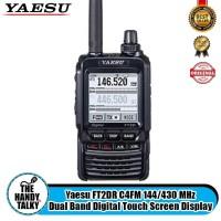 Yaesu FT2DR C4FM 144/430 MHz Dual Band Digital Touch Screen Display