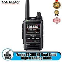 Yaesu FT-3DR HT Dual Band Digital Analog
