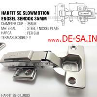 Harfit SE 35MM Engsel Sendok Slow Motion (Not Huben SM-L4)
