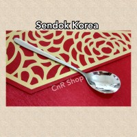 Korea sendok sumpit sujeo stainless 401 tebal berat