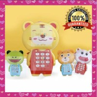 Mainan Edukasi Bayi Handphone Motif Animal Dengan Musik Best Seller!