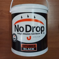 No Drop Cat Pelapis Anti Bocor Bitumen Black 4 kg (GOJEK/GRAB ONLY)