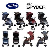 STROLLER PLIKO SPYDER 287/stroller anak bayi/kereta dorong bayi murah