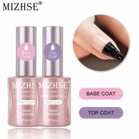 Top Coat & Base Coat MIZHSE UV GEL 18ML/Uv Gel Top coat & Base coat