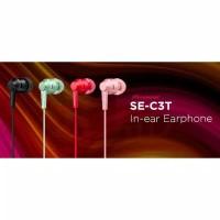 Pioneer SE-C3T In Ear Earphone With Mic - Garansi Resmi