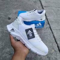 sepatu running shoes Adidas warna putih size 39 40 41 42 43