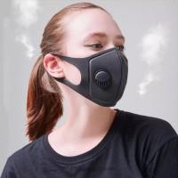 Masker Filter anti virus Corona dan Bakteri Ready Katup Bisa Dicuci