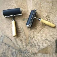 Roll Lino cut, Roll grafis, Roll Karet, Brayer, 10 cm