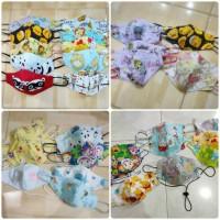 Masker anak/bayi Earloop/ tali karet handmade