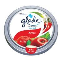 Glade car gel/wangi wangian mobil/pengharum mobil rasa apel apple