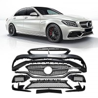 Bumper Kits Styling C63 Style Body Kits For Mercedes Benz W205