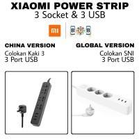 Xiaomi Mi Smart Power Strip Plug Adapter 3 USB 2A Original (Charger)