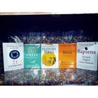 buku motivasi filosofi teras blink hidup ringan sapiens 21 lessons