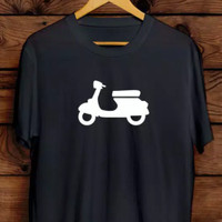 kaos tshirt vespa picture