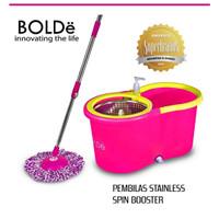 Bolde super Mop M789x+ alat pel otomatis dengan basket stainless