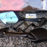 Spion Carbon Panjang Lipat For Motor Nmax R15 R25