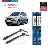 Wiper Mobil Frameless Hyundai Gets Bosch Clear Advantage