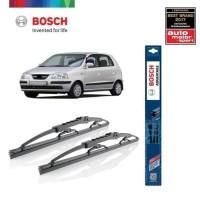 Wiper Mobil Hyndai Atoz Sepasang Bosch Advantage