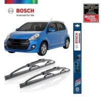 Wiper Mobil Daihatsu Sirion 2010 - 2015 Sepasang Bosch Advantage