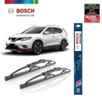 Wiper Mobil Nissan Xtrail T32 2014-2018 Sepasang Bosch Advantage