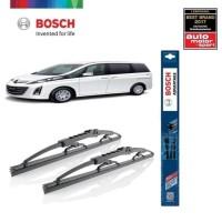 Wiper Mobil Mazda Biante Sepasang Bosch Advantage
