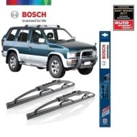 Wiper Mobil Nissan Terrano Sepasang Bosch Advantage