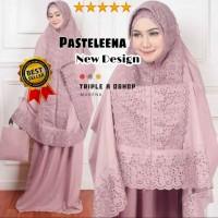Mukena Dewasa Siti Khadijah Fatima Ala Syahrini Renda Full KD Premium