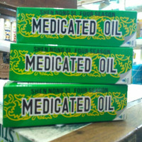 Medicated oil ukuran tanggung 20 ml