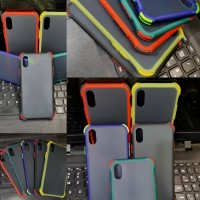 Case iPhone XS ShockProof Crack Dop Blue Matte