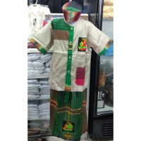 Baju Koko Pendek Setelan Wadimor Anak TK