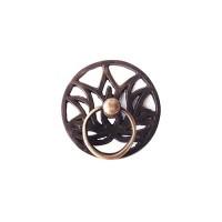 """2-3/4"""" Tarikan Laci Lemari / Cabinet Ring Pull - HRP2070 Lotus"""