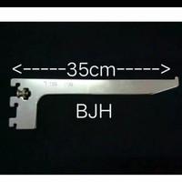 Breket kaca ukuran 35 cm
