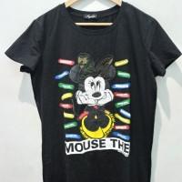 *Preloved* Tees minnie mouse hitam