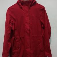 *Preloved* Jaket uniqlo coat merah waterproof