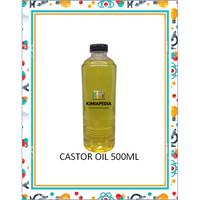 Pure Castor Oil / Minyak Jarak Asli Murni Natural 500ml Import Quality