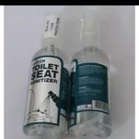 Q-San Toilet Seat Sanitizer / Pembersih toilet / Toilet spray qsan