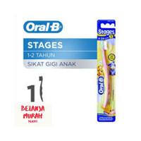 ORAL-B Sikat Gigi Bayi dan Anak 1 Pc ORAL B Baby & Kids Tooth Brush -