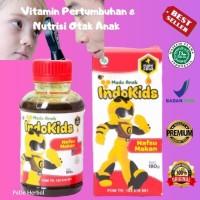 Madu Anak Indokids Vitamin Pertumbuhan & Nutrisi Otak Original BPOM