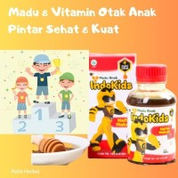 Obat Nafsu Makan Madu Herbal Anak Vitamin & Nutrisi Otak Pintar ASLI