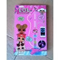 Mainan Microphone Karaoke 1 Mic LOL SURPRISE Mikrofon anak