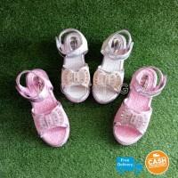 Mayang Sandal Wedges Anak Perempuan Cantik Berkilau