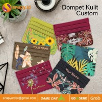 CUSTOM CARD HOLDER DOMPET KARTU