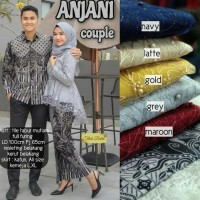 Best Product Couple Batik Tulle Anabel / Tile Brukat Pinguin Annabel