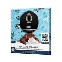 PODCHOCOLATE 'Sea Salt & Cacao Nibs' Dark Bali Chocolate