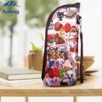 Tas Penghangat Botol Susu Bayi Portable untuk Travel aofeng