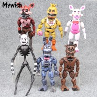 Mywish Five Nights at Freddy s Action Figures Detachable Toy